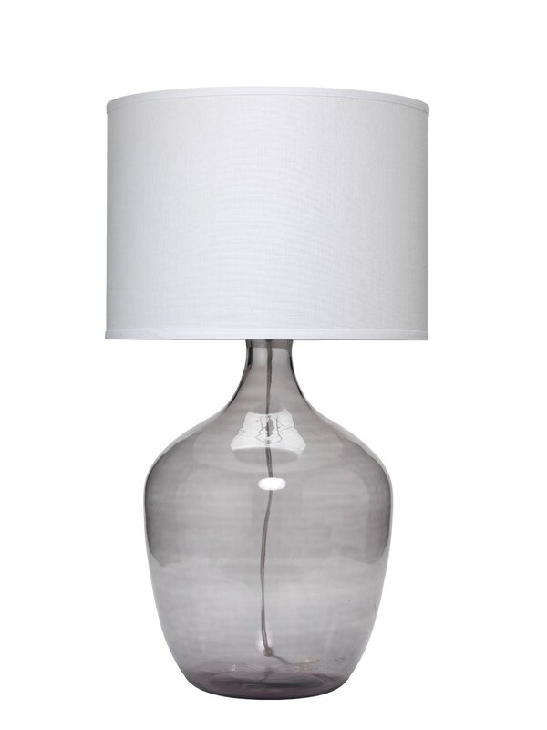 Jar extra large plum 33 5 table lamp