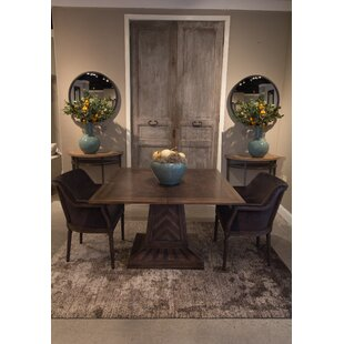 Havenhurst Flip Top Solid Wood Dining Table Sarreid Ltd