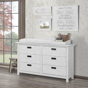 Waverly 6 Drawer Double Dresser by Evolur