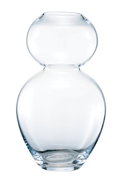 Bidkhome Glass Hourglass Vase Wayfair