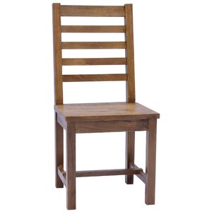 Polk Solid Wood Dining Chair (Set of 2) Gracie Oaks
