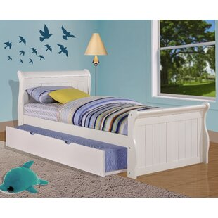 Jacquline Platform Bed with Twin Trundle