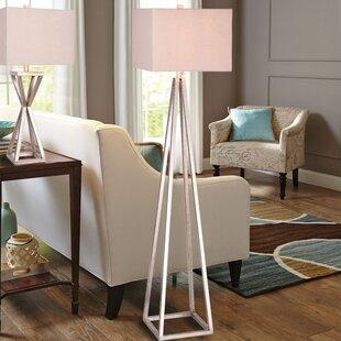 Deals Rikard 62.5 Floor Lamp with Bulb By Orren Ellis