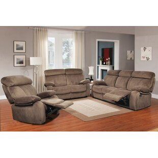 Walden Reclining 3 Piece Living Room Set by Beverly Fine Furniture