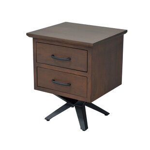 Coupon Weir 2 Drawer Nightstand by Union Rustic