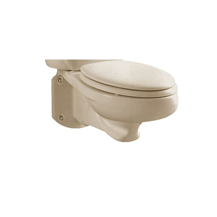 Prime Glenwall 1 6 Gpf Elongated Wall Mount Toilet Seat Not Included Machost Co Dining Chair Design Ideas Machostcouk