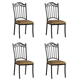 Winnie Iron Side Chair (Set of 4) by Darby Home Co