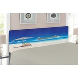 Seaside Upholstered Panel Headboard by East Urban Home