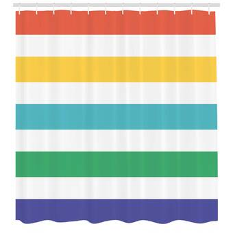 East Urban Home Printables Mermaids Welcome Sign Single Shower Curtain Wayfair