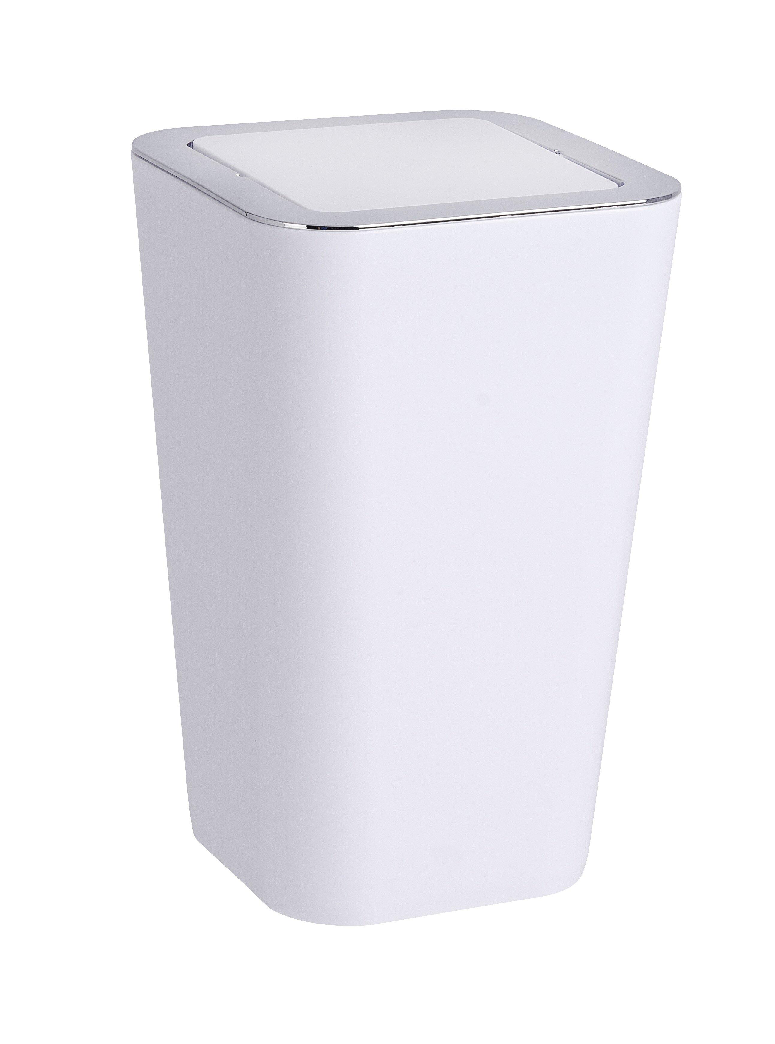 Wenko Inc Candy Swing Top 1 5 Gallon Trash Can Reviews Wayfair