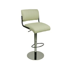 Batchelder Height Adjustable Swivel Bar Stool By Metro Lane