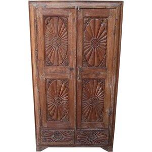 Garderobenschrank Punthali, 162 cm H x 86 cm B x 32 cm T von Caracella