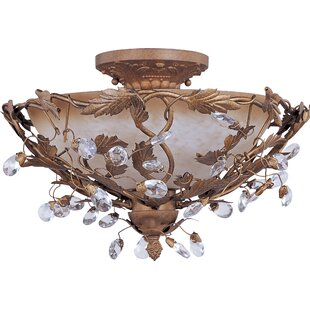 Kaiya 3-Light Bowl Pendant..