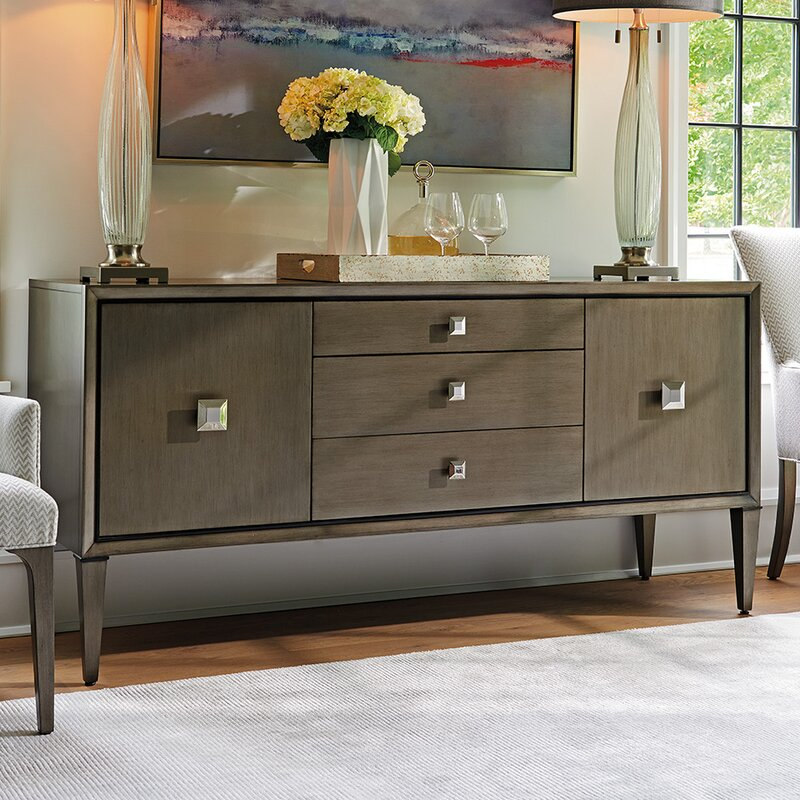 Ariana Provence 3 Drawer 2 Door Sideboard