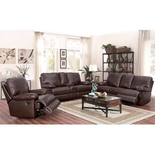 Koehn Leather Reclining Configurable Livi..