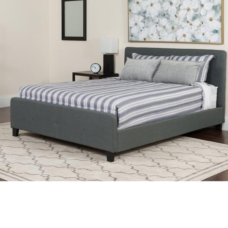 Alcott Hill Konen Tufted Upholstered Platform Bed Amp Reviews Wayfair Ca