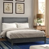 Kennon Upholstered Panel Bed by Three Posts