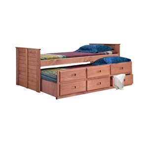 Find Cirillo Twin Mate's & Captain's Bed with Trundle by Harriet Bee Reviews (2019) & Buyer's Guide