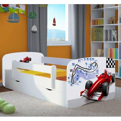 Funktionsbett Cavender mit Matratze und Schublade   Schlafzimmer > Betten > Funktionsbetten   Weiß   Mdf - Holz - Wenge   Roomie Kidz