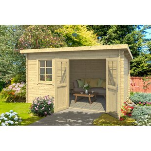 Wiener 14 X 11 Ft. Tongue & Groove Summer House By Sol 72 Outdoor