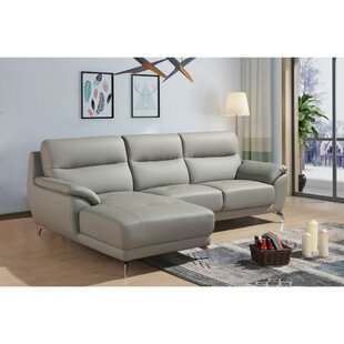 Desjardins  Left Hand Facing Modular Sectional by Orren Ellis