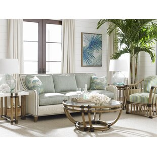 Tommy Bahama Home Twin Palms Coffee Table Set