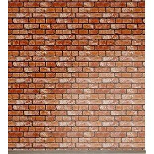 Removable 8 X 20 Brick Wallpaper