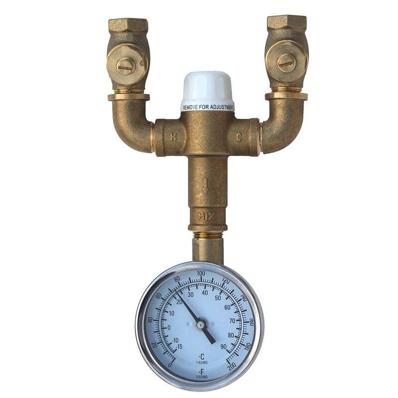 Speakman Safe T Zone Thermostatic Mixing Valve Wayfair
