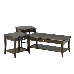 Steffens 3 Piece Coffee Table Set