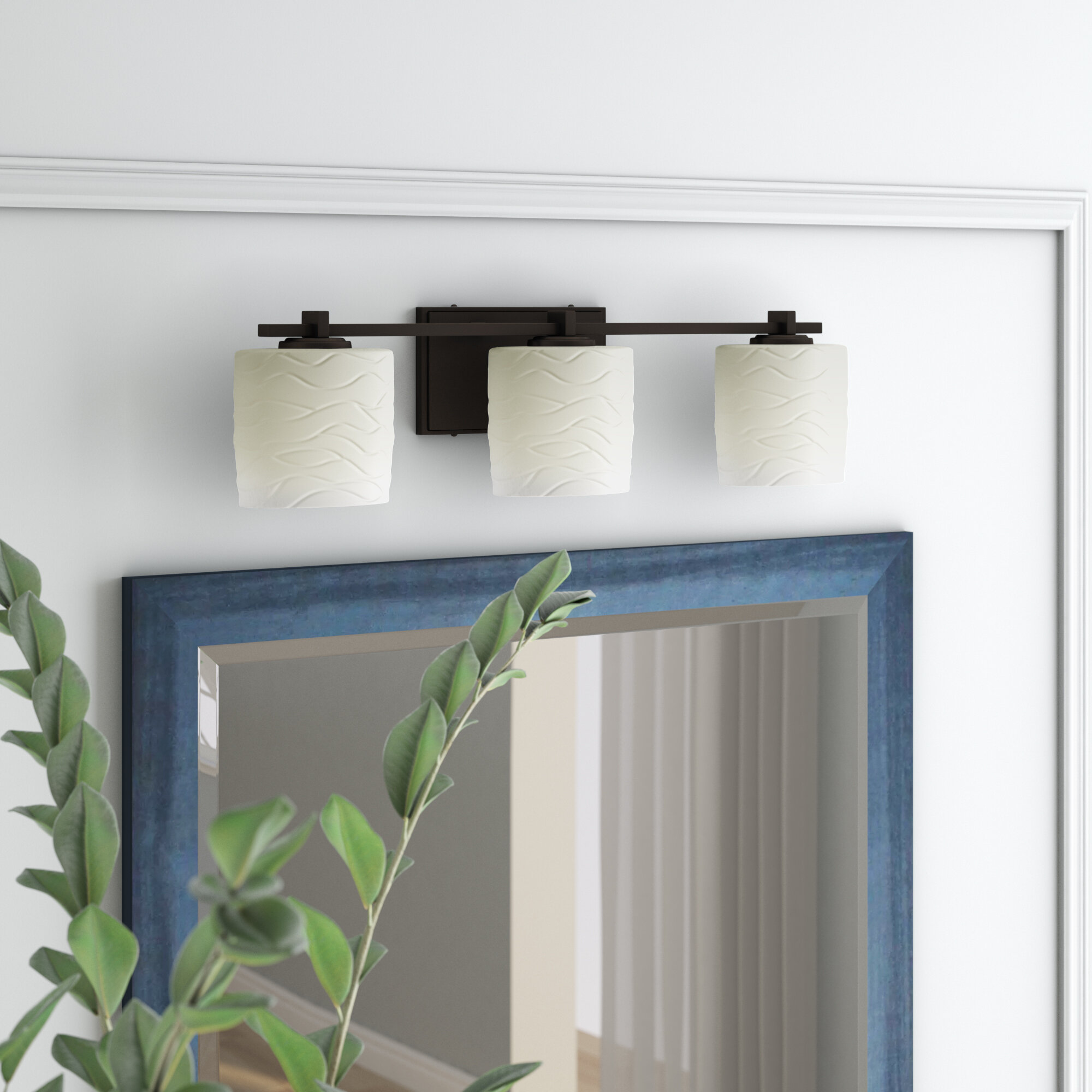 Brayden Studio Darrien 3 Light Vanity Light Wayfair