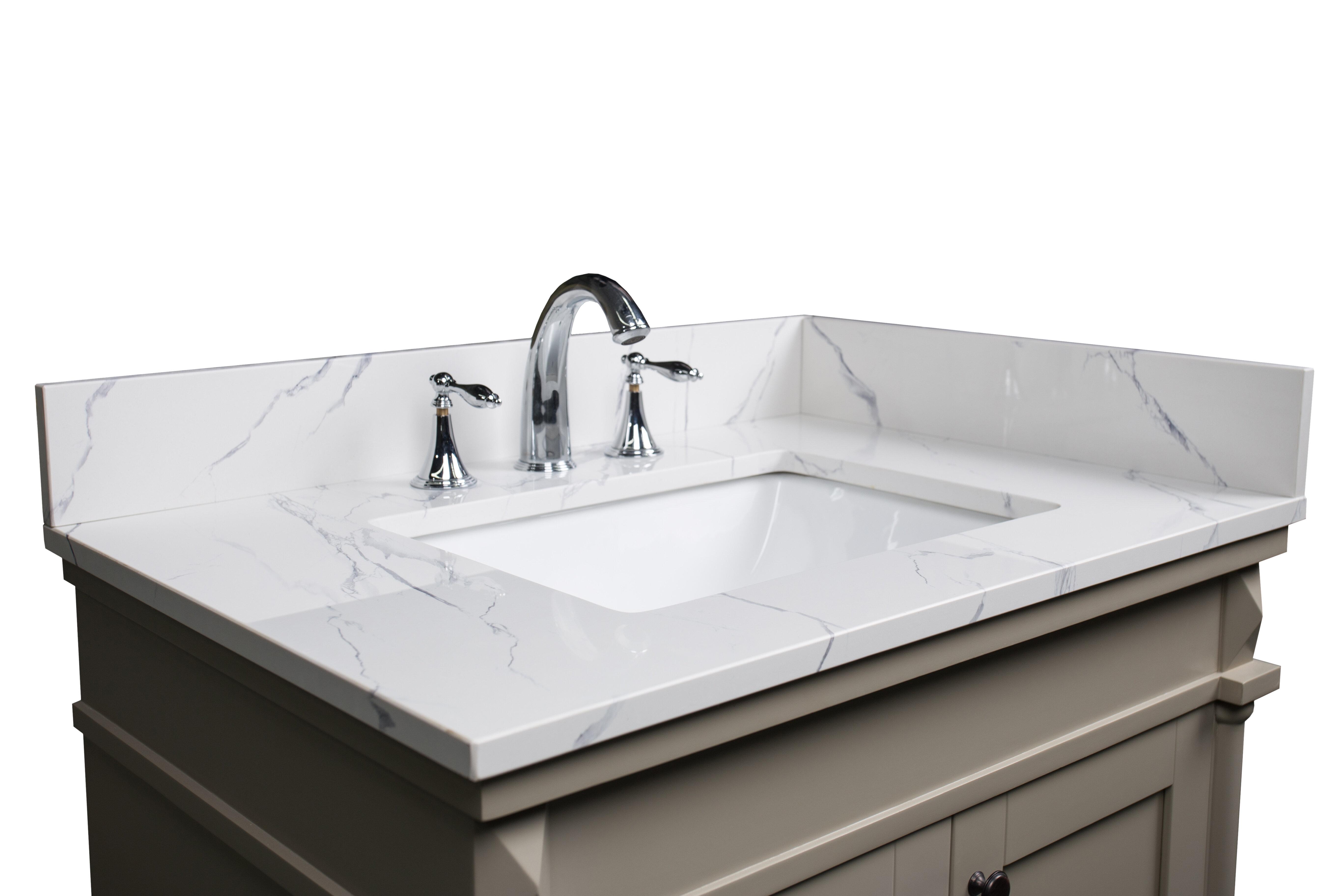 Renaissancevanity 31 Single Bathroom Vanity Top Reviews Wayfair