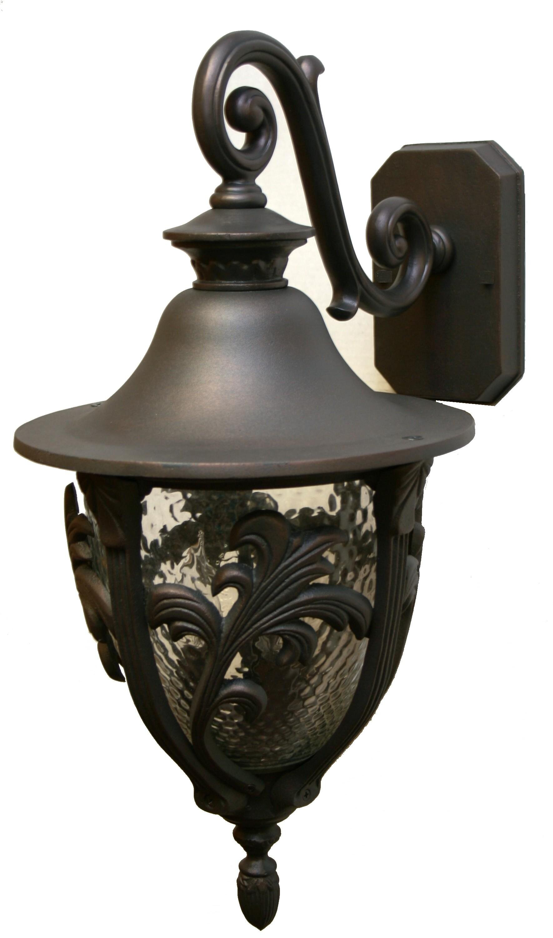 4 Light Pewter Silver Outdoor Wall Lighting You Ll Love In 2021 Wayfair