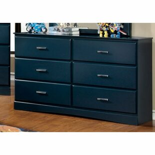 Krish 6 Drawer Double Dresser by Zoomie Kids Looking for