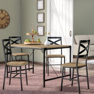 Samantha 5 Piece Dining Set by Laurel Foundry Modern Farmhouse New Design