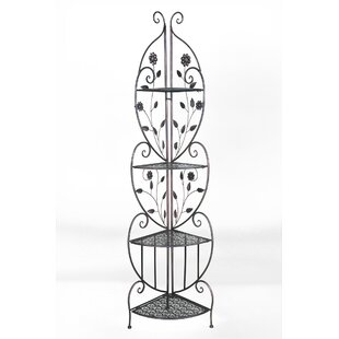 August Grove Ewalt Daisy Steel Baker's Rack