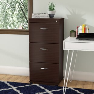 Compare prices Bayswater Commercial 3 Drawer Filing Cabinet by Ebern Designs