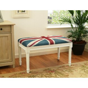 Charlton Home Ranieri Britannia Wood Bench
