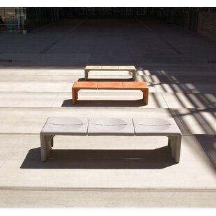 Crater Metal Bench