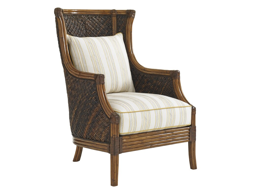 bali hai rum beach wingback chair