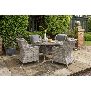 Manraj 4 Seater Dining Set By Sol 72 Outdoor