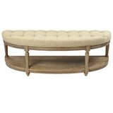 Bowen Upholstered Bench by One Allium Way®