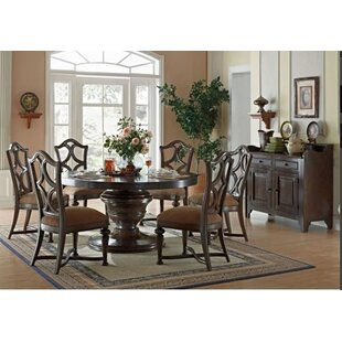 Lorraine Round Solid Wood Dining Table by Eastern Legends