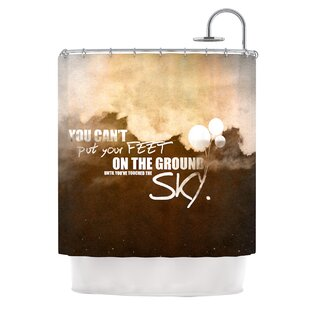 Touch The Sky Single Shower Curtain