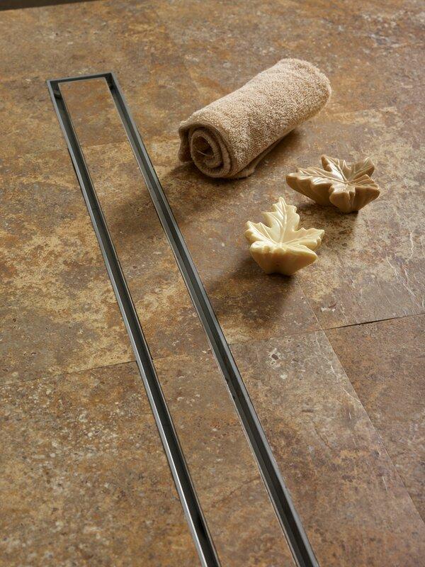Quartz by aco tile 2 linear shower drain reviews wayfair tile 2 linear shower drain ppazfo