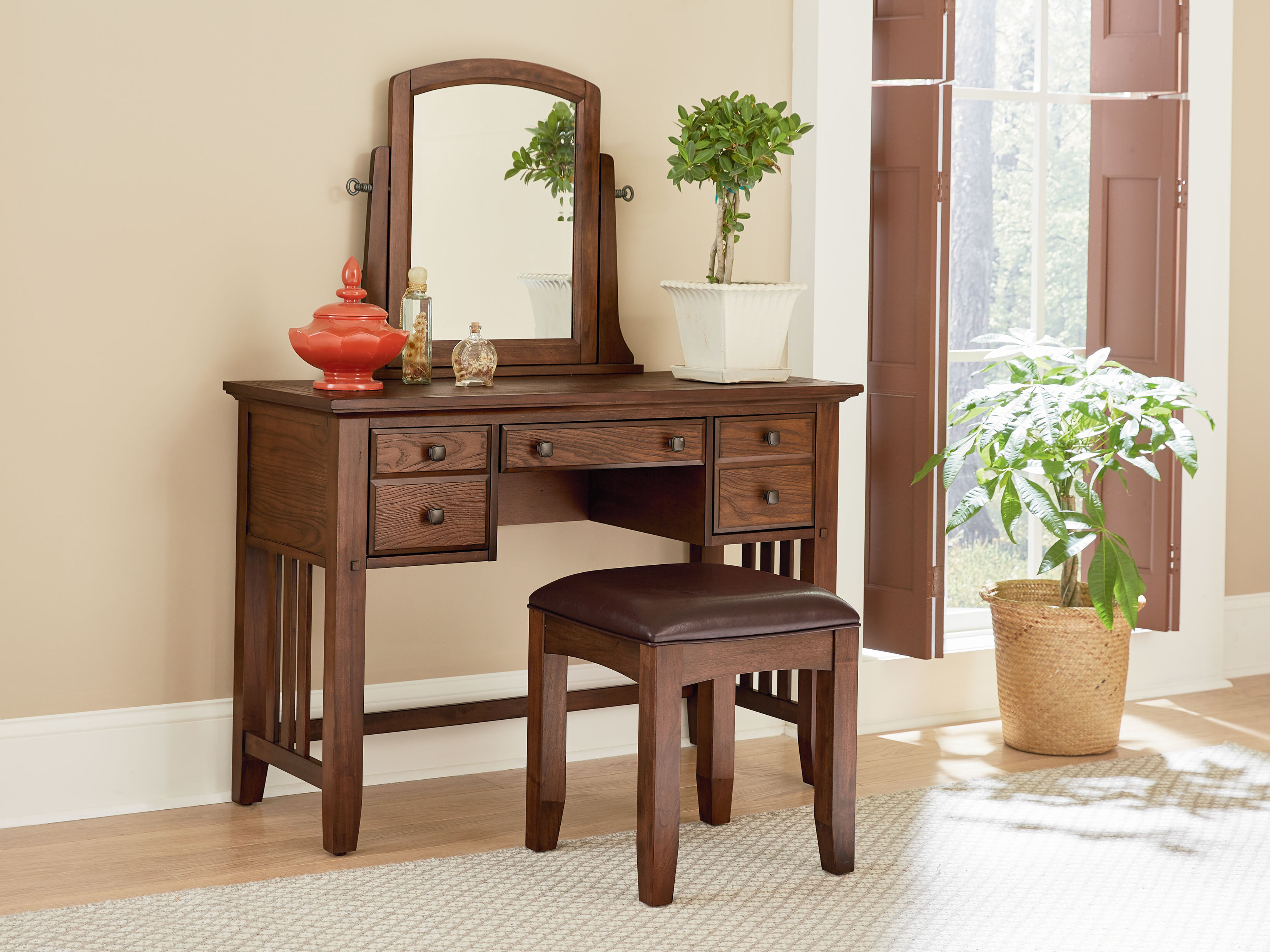Superbe Charlton Home Romo Vanity With Mirror | Wayfair