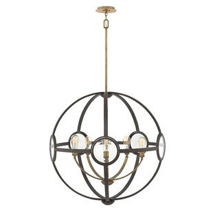 Brayden Studio Propes 5-Light Globe Chandelier