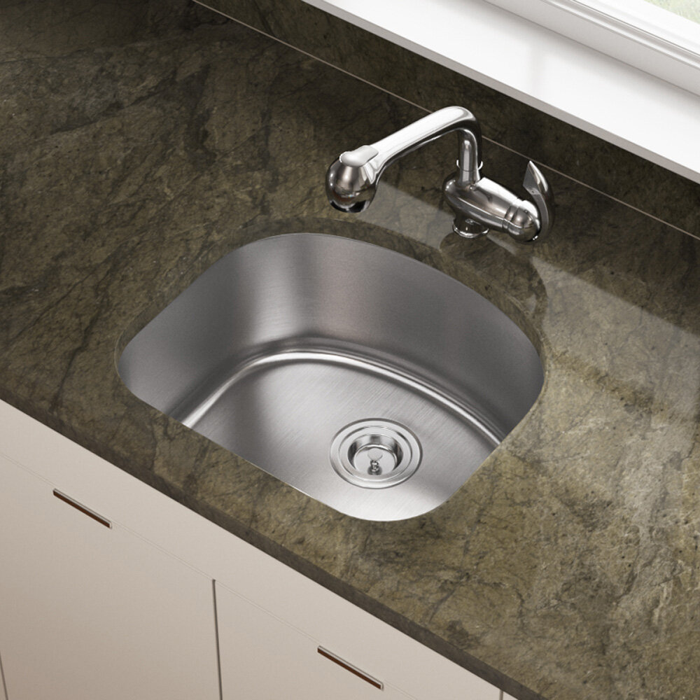 Mrdirect Stainless Steel 20 X 18 Undermount Kitchen Sink Reviews Wayfair