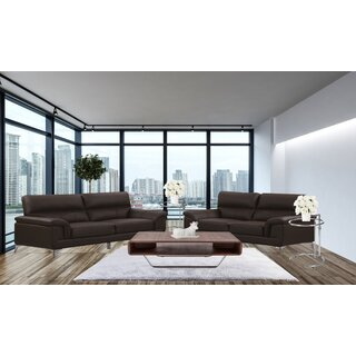 Andromeda Leather 2 Piece Living Room Set by Wade Logan SKU:DA790457 Check Price