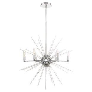 Orren Ellis Ben 6-Light Sputnik Chandelier