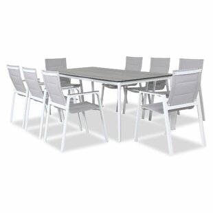 Kiah 8 Seater Dining Set By Sol 72 Outdoor